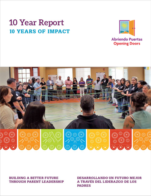 National Abriendo Puertas 10-Year Anniversary Survey